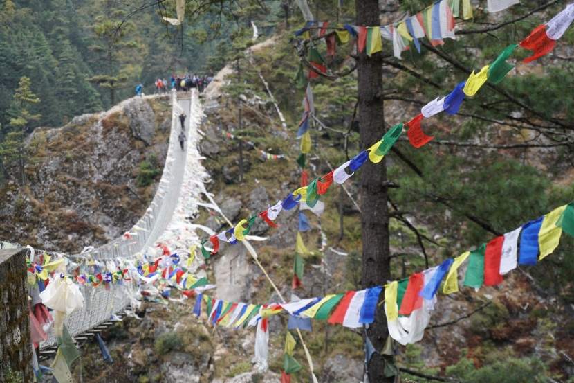 Day 2 – Phakding to Namche – Suspension Bridges and Rivendell