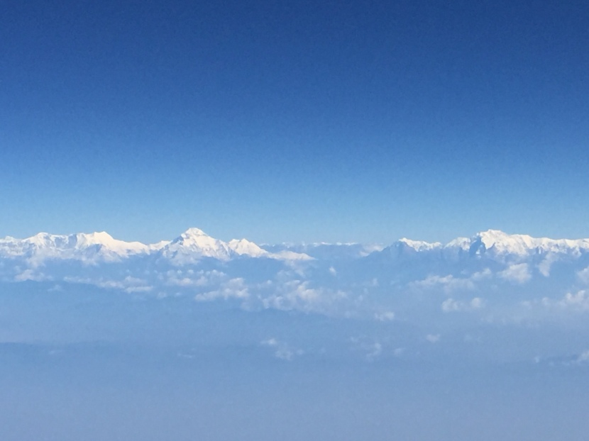 First Glimpse of theHimalayas