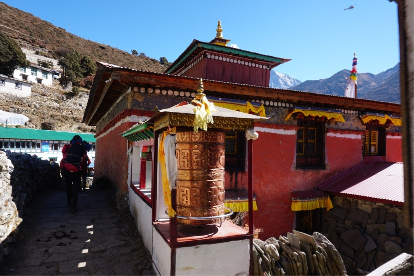 Day 5 – Debuche to Dingboche – Do you believe in the Abominable Snowman?